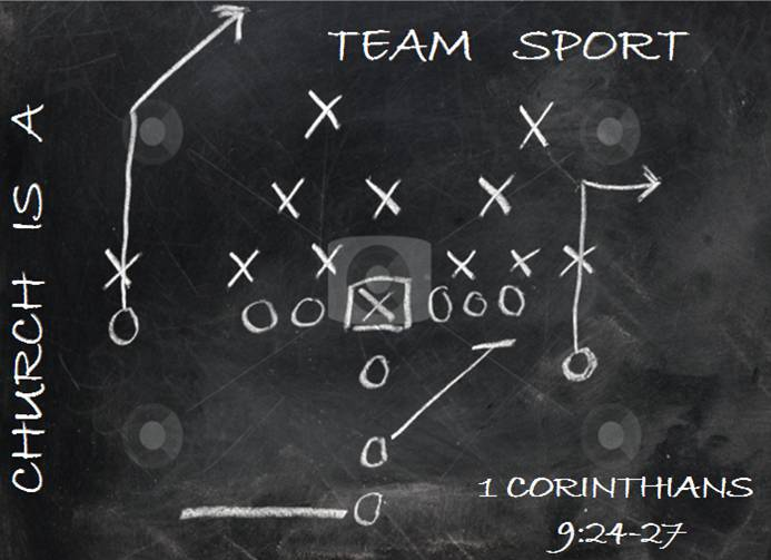 church is a team sport by Definition of sport in us english - an activity involving physical exertion and skill in which an individual or team competes against another or others for.
