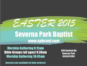 Easter 2015 graphic