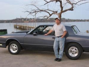 Scott with impala