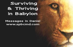 surviving and thriving in babylon_logo