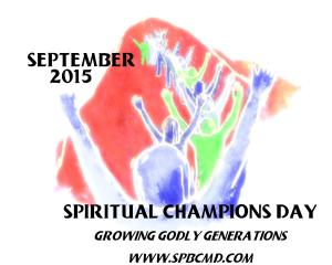 spiritual champions day 2015