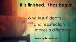 Jesus death and resurrection_logo