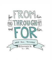 Romans 11_36