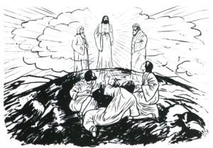 mk 9 transfiguration
