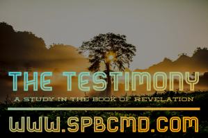 The Testimony logo